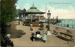 Vintage Postcard The Esplanade Queenstown New Zealand