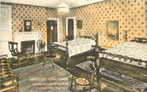 1920s Lewisburg West Virginia General Lewis Hotel Albertype postcard 8434