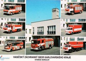 Fire Station , SOKOLOV , Czech Republic , 60-80s ; Trucks