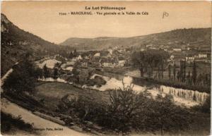 CPA Marcilhac Vue generale et la Vallée du Célé (686453)