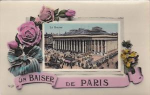 Un Baiser de PARIS , France , 00-10s ; Flowers ; La Bourse