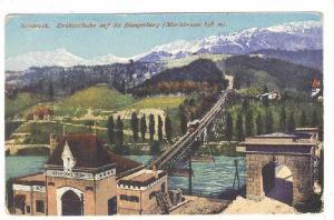 Drahtseilbahn Auf Die Hungerburg (Mariabrunn 858 m.), Innsbruck, Austria, 190...