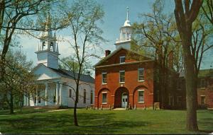 Maine Wiscasset First Congregational Church 1959