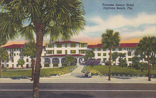Princess Issena Hotel Daytona Florida Curteich