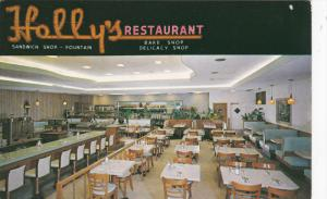 Interior , Holly's Sandwich Shop , Treasure Island , ST. PETERSBURG , Florida...
