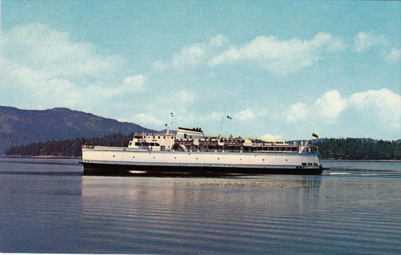 BC Ferry,  Canada , 50-60s