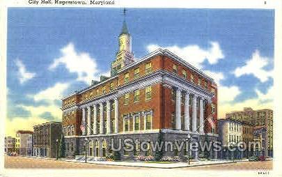 City Hall Hagerstown MD Unused