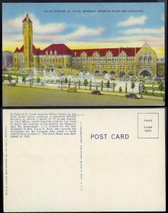 Union Station St Louis MO unused 1940s
