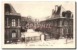 Old Postcard Amiens L & # 39Hotel City