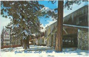 Garni Motor Lodge, Lake Tahoe North Shore, Nevada, NV , Chrome