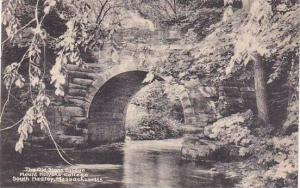 Massachusetts South Hadley The Old Stone Bridge Mount Holyoke College Albertype