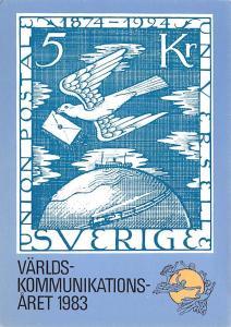Sweden Old Vintage Antique Post Card Sverige Stamps Unused