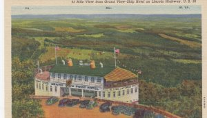 LINCOLN HIGHWAY , Pennsylvania , 1930-40s ; Grand View Ship-Hotel