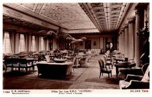 R.M.S. Homeric , !st Class Line , White Star Line