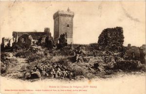CPA AK Ruines du Chateau de POLIGNAC (517401)