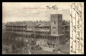 Germany 1906 China Astor Hotel TIENTSIN Cover Rostock 95161
