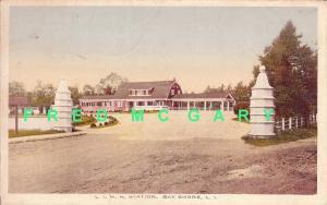 1917 Bay Shore Long Island PC: L.I.R.R. Depot
