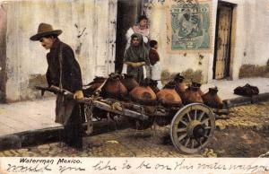 MEXICO WATERMAN~G HATTON PUBLISHED POSTCARD 1905