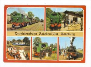 5Views, Traditionsbahn Radebeul Ost, Radeburg (Saxony), Germany, 1950-1970s