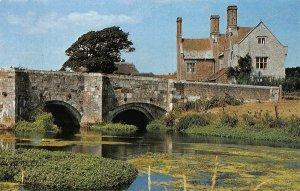 Dorset Wool Bridge and Manor Postcard