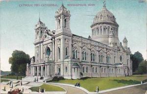 Minnesota Mionneapolis Catholic Pro Cathedral 1912