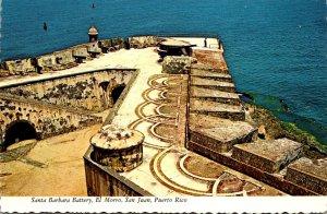 Puerto Rico San Juan El Morro Santa Barbara Battery