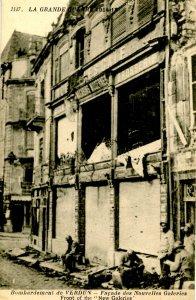 France - Verdun, WWI. Bombardment of New Galeries