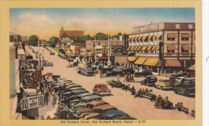 Maine Old Orchard Beach Old Orchard Street Dexter Press