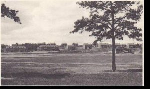 Massachusetts Ayer Fort Devens Officers Quarters From Parade Ground Albertype