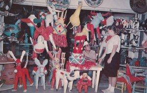 TIJUANA, Mexicom 1950-1960's; Pinata Shop