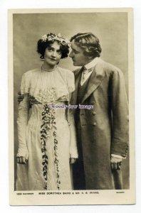 b5220 - Stage Actress - Dorothea Baird & H.B.Irving, No.1051 - postcard