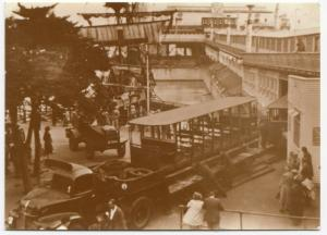 Essex; Toastrack Car Being Removed, 1949 Repro PPC, Unused, Southend Pier Museum