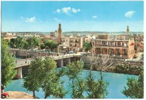 Syria, Deir-Ezzor, General View, 1960s unused Postcard