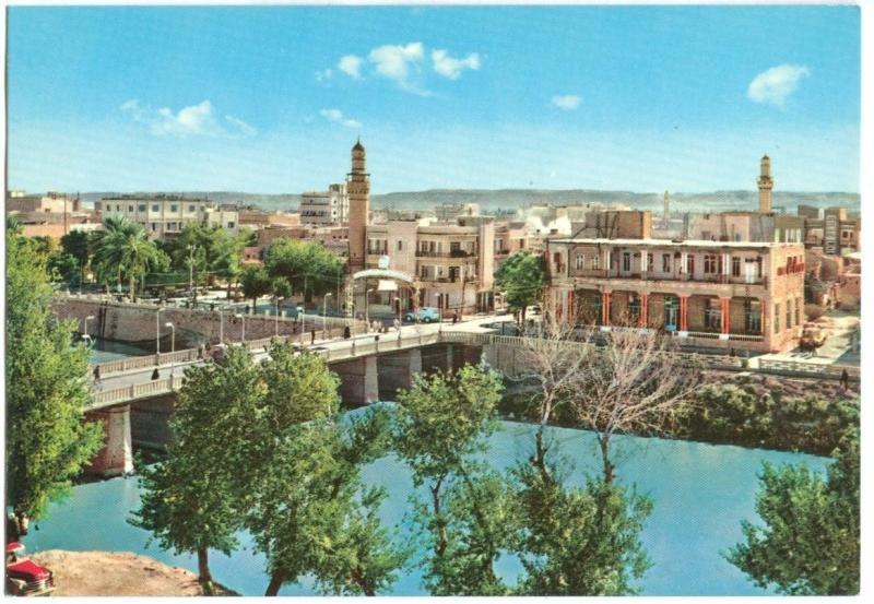 Syria, Deir-Ezzor, General View, 1960s unused Postcard