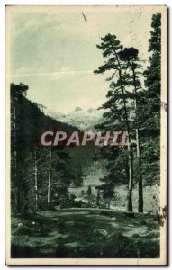 Old Postcard Cauterets landscape in the Valley of Marcadau