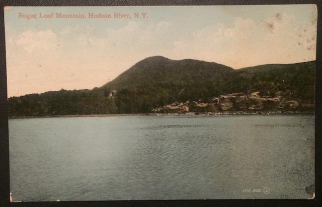 Sugar Loaf Mountain, Hudson River, N.Y. 1910 The Valentine & Sons Publishing Co.