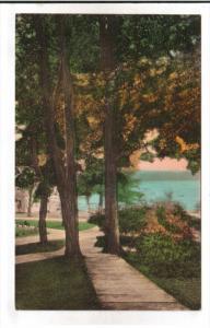 CHAUTAUQUA, New York; The Promenade, Chautauqua Institution, PU-1939