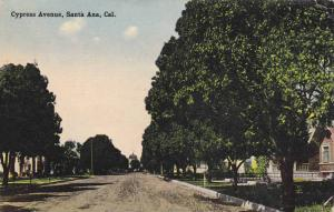 Driving down Cypress Avenue, Santa Ana, California, PU-1915