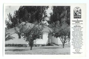 RPPC Modern Three Bedroom Home for Atomic Bomb Workers, Richland, WA
