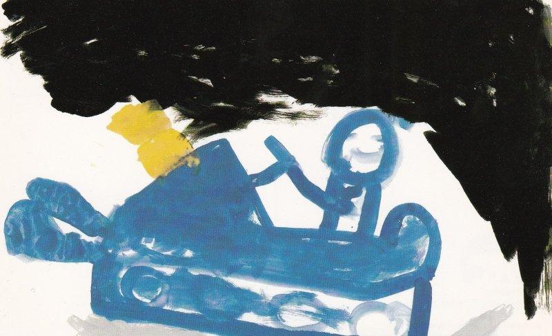 CAMBRIDGE BAY , NWT, Canada, Expo-1986 ; Child Art #2