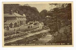 Tan-Y-Coed Gardens & Beach Road, Colwyn Bay, Wales, UK, 00-10s