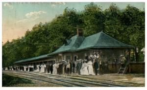 18489   NY Sylvan Beach  NYO and W railroad Depot