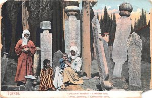 Turkish Cemetery Turkei Turkey Unused