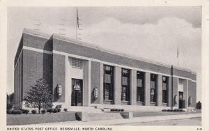 REIDSVILLE , North Carolina, PU-1939 ; Post Office