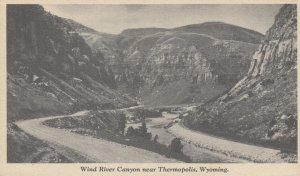 THERMOPOLIS, Wyoming, 1929; Wind River Canyon