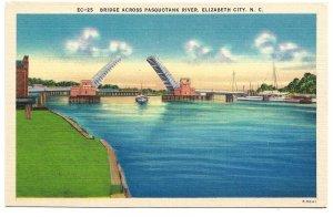 Elizabeth City, NC - Bridge Across Pasquotank River