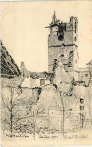 CPA   Wattweiler - 22. Jan.1916  (452113)