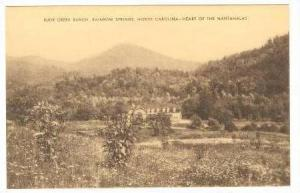 Buck Creek Ranch, Rainbow Springs, North Carolina,1900-10s