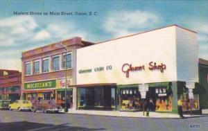Modern Stores On Main Street Union South Carolina