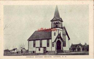 GERMAN REFORM CHURCH, LENNOX, SD.